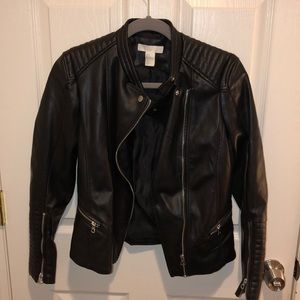 H&M Moto Leather Jacket